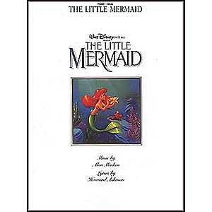 Hal-Leonard-The-Little-Mermaid-Piano--Vocal--Guitar-Songbook--Standard