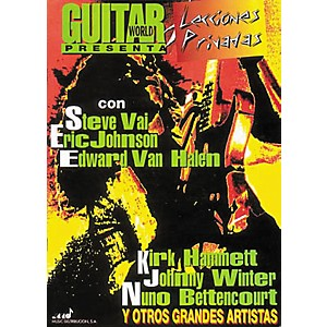 Hal-Leonard-Guitar-World-Presents-Private-Lessons-Guitar-Tab-Spanish--Book--Standard