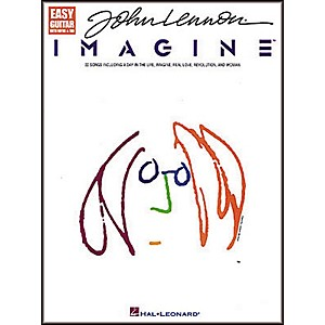 Hal-Leonard-John-Lennon---Imagine-Easy-Guitar-Tab-Songbook--Standard