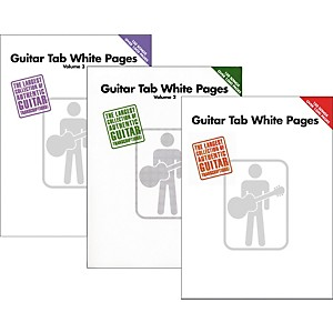 Hal-Leonard-Guitar-Tab-White-Pages-Vol--1---3-Standard