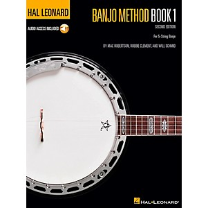 Hal-Leonard-Banjo-Method---Volume-1-Book-CD-Standard