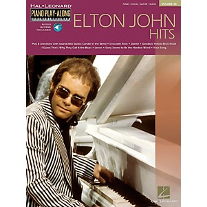 Hal-Leonard-Elton-John-Piano-Play-Along-Volume-30-Piano--Vocal--Guitar-Songbook-with-CD--Standard