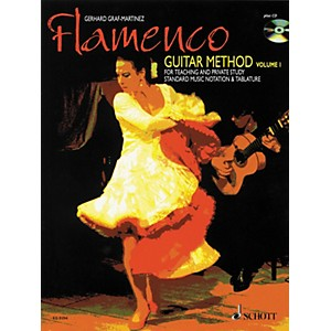 Schott-Flamenco-Guitar-Method-Volume-1-Book-with-CD-Standard