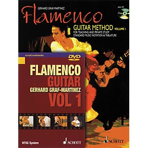 Schott-Flamenco-Guitar-Method-Volume-1-Book-with-CD-and-DVD-Standard