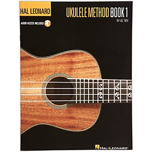 Hal-Leonard-Ukulele-Method-Book-1-with-CD-Standard