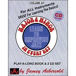 Jamey-Aebersold-Major---Minor-In-Every-Key---Learn-to-Improvise-Jazz--Book-CD--Standard