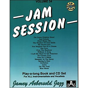 Jamey-Aebersold-Jam-Session-Book-and-CD-Standard