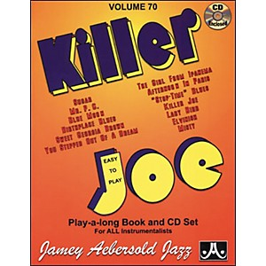 Jamey-Aebersold-Killer-Joe-Play-Along-Book-with-CD--Standard