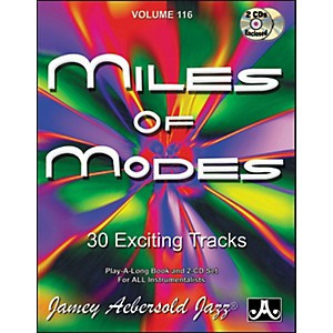 Jamey-Aebersold-Miles-of-Modes-Play-Along-Book-and-CDs-Standard