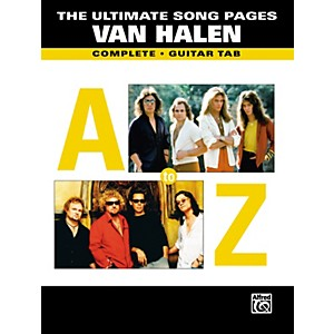 Alfred-The-Ultimate-Song-Pages--Van-Halen-Book-Standard