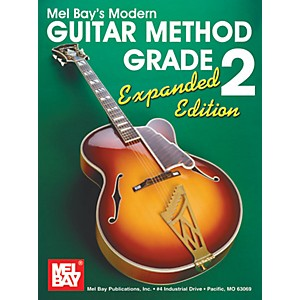 Mel-Bay-Modern-Guitar-Method-Grade-2-Book---Expanded-Edition-Standard