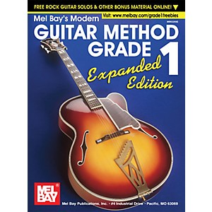 Mel-Bay-Modern-Guitar-Method-Grade-1-Book---Expanded-Edition-Standard