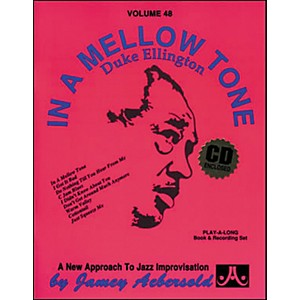 Jamey-Aebersold-Volume-48---In-A-Mellow-Tone--Duke-Ellington---Play-Along-Book-and-CD-Set-Standard
