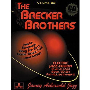 Jamey-Aebersold-Volume-83---The-Brecker-Brothers---Play-Along-Book-and-CD-Set-Standard