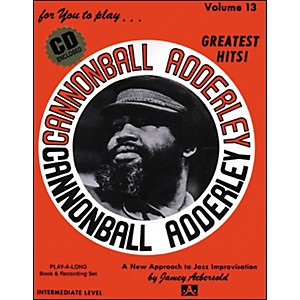 Jamey-Aebersold-Volume-13---Cannonball-Adderly---Play-Along-Book-and-CD-Set-Standard