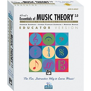 Alfred-Essentials-of-Music-Theory--Software-Version-2-0-CD-ROM-Educator-Version-Volume-1-Standard