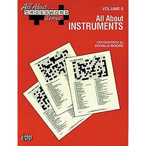 Alfred-All-About-----Crossword-Series--Vol--II-All-About-Instruments-Music-Game-Book-Standard