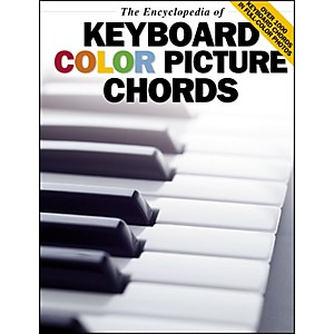 Music-Sales-The-Encyclopedia-Of-Keyboard-Color-Picture-Chords-Standard
