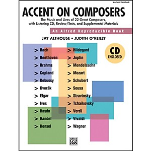 Alfred-Accent-on-Composers-Book-CD-Standard
