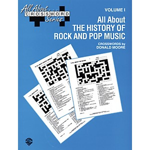 Alfred-All-About-------Crossword-Series-Volume-I-All-About-the-History-of-Rock-and-Pop-Music-Book-Standard