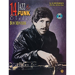 Alfred-14-Jazz---Funk-Etudes-Book-CD-Standard