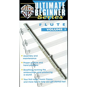 Alfred-Ultimate-Beginner-Series--Flute--Volume-I-Video-Standard