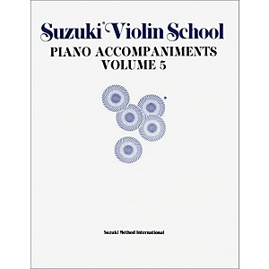 Alfred-Suzuki-Violin-School-Piano-Accompaniment-Volume-5--Book--Standard