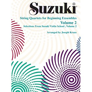 Alfred-Suzuki-String-Quartets-for-Beginning-Ensembles-Volume-2--Book--Standard