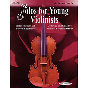 Alfred-Solos-for-Young-Violinists-Violin-Part-and-Accompaniment-Vol--2--Book--Standard