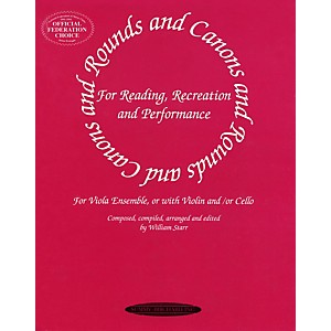 Alfred-Rounds-and-Canons-for-Viola-Ensemble--Book--Standard