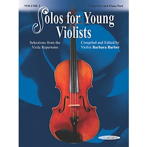 Alfred-Solos-for-Young-Violists-Vol--2--Book--Standard