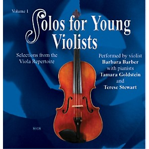 Alfred-Solos-for-Young-Violists-Vol--1--CD--Standard