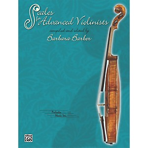 Alfred-Scales-for-Advanced-Violinists--Book--Standard