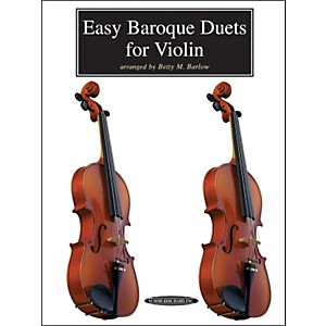 Alfred-Easy-Baroque-Duets-for-Violin--Book--Standard