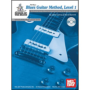 Mel-Bay-Blues-Guitar-Method--Level-1-Book-and-CD-Standard
