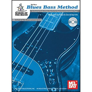 Mel-Bay-Blues-Bass-Method-Level-1-Book-and-CD-Standard