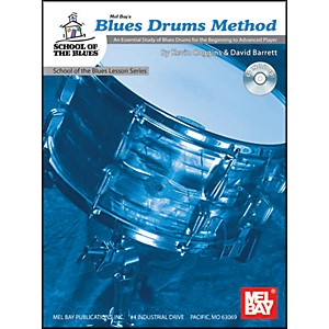 Mel-Bay-Blues-Drums-Method-Book-and-CD-Standard