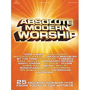 Brentwood-Benson-Absolute-Modern-Worship-Piano--Vocal--Guitar-Songbook--Standard