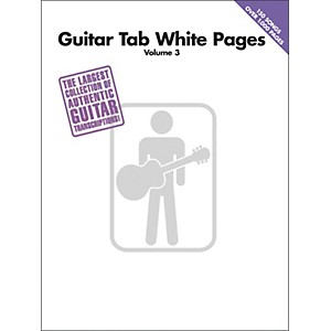 Hal-Leonard-Guitar-Tab-White-Pages-Volume-3--Standard
