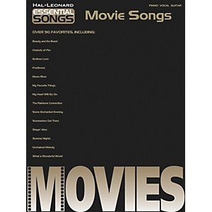 Hal-Leonard-Essential-songs---Movie-Songs-Piano--Vocal--Guitar-Songbook--Standard