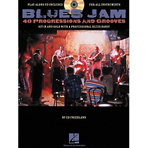 Hal-Leonard-Blues-Jam-40-Progressions---Grooves--Book-CD--Standard