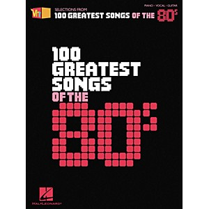 Hal-Leonard-VH1-100-Greatest-Songs-of-the--80s-Piano--Vocal--Guitar-Songbook-Standard