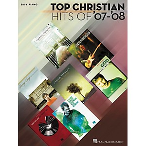 Hal-Leonard-Top-Christian-Hits-of--07--08-Easy-Piano-Songbook-Standard