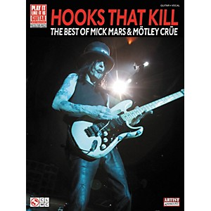 Cherry-Lane-Hooks-That-Kill--The-Best-Of-Mick-Mars-and-Motley-Crue-Guitar-Tab-Songbook-Standard