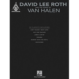 Hal-Leonard-David-Lee-Roth-and-The-Songs-Of-Van-Halen---Guitar-Tab-Songbook-Standard
