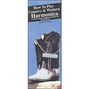 Music-Sales-How-to-Play-Country-and-Western-Harmonica--Book--Standard
