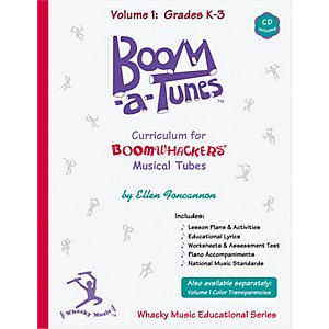 BOOMWHACKERS-Boom-a-Tunes-Curriculum--Volume-1--Book-CD--Standard