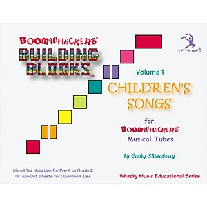 BOOMWHACKERS-Boomwhackers-Building-Blocks-Children-s-Songs-Volume-1-Book-Standard