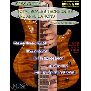 MJS-Music-Publications-Total-Scales-Techniques-and-Applications---Bass--Book-CD--Standard