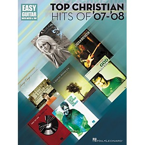 Hal-Leonard-Top-Christian-Hits-Of--07--08-Tab-Songbook---Easy-Guitar-Series-Standard
